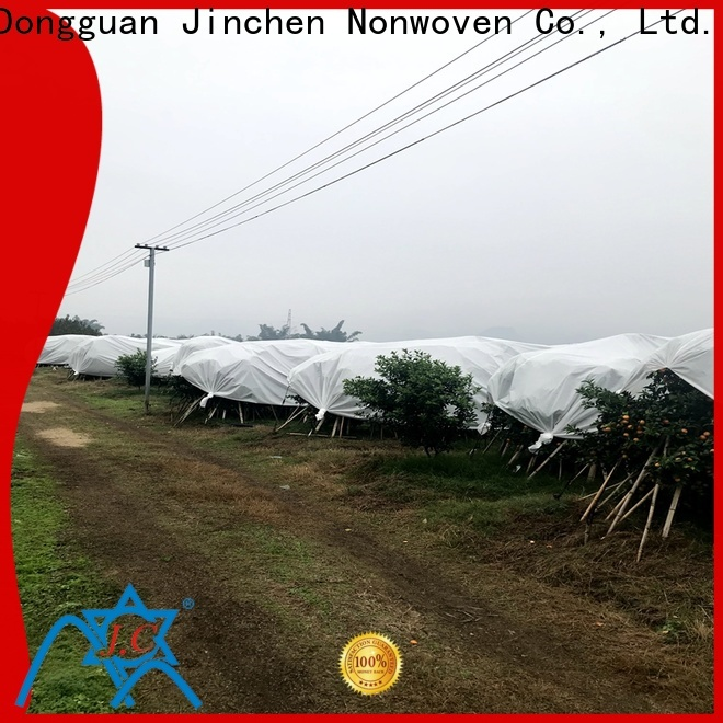 Jinchen latest agricultural cloth forest protection for greenhouse