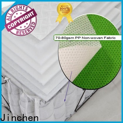 Jinchen high quality non woven fabric products company for mattress