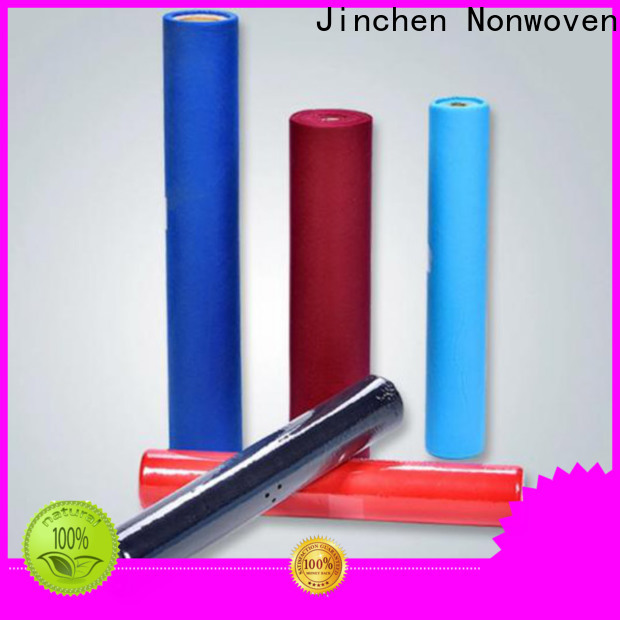 Jinchen pp non woven with printing for restaurant