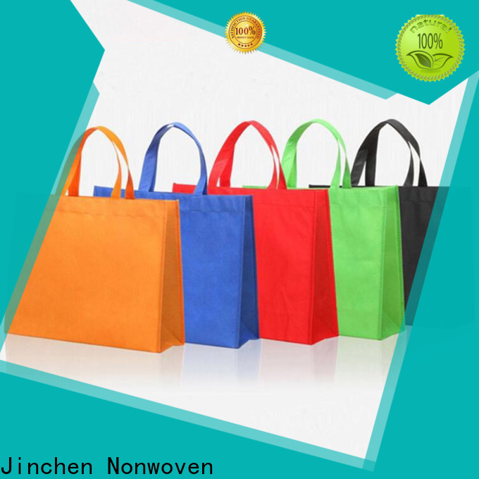 Jinchen latest non woven carry bags supplier for supermarket