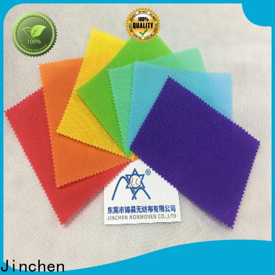 Jinchen virgin PP Spunbond Nonwoven factory for sale