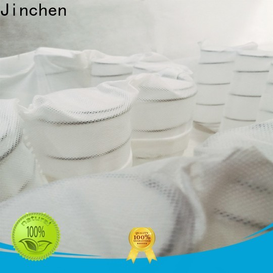 Jinchen high quality pp non woven fabric tube for bed