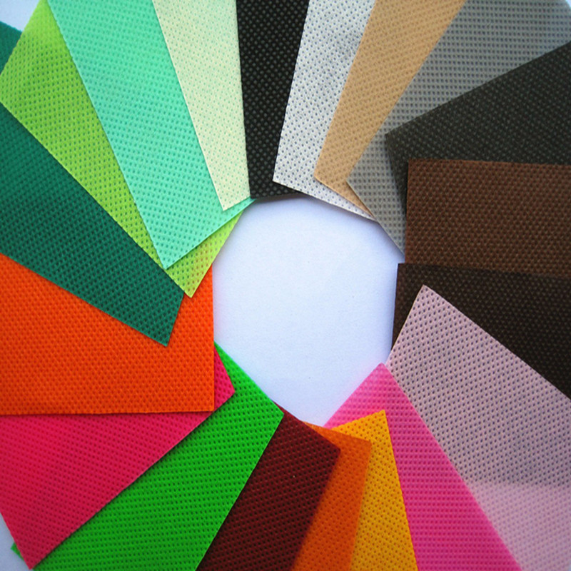 High-quality color spunbond non-woven fabric, 100% Virgin pp