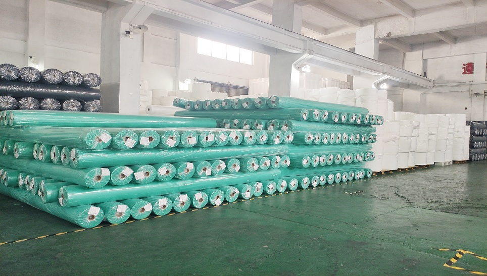 PP Nonwoven Fabric in factory