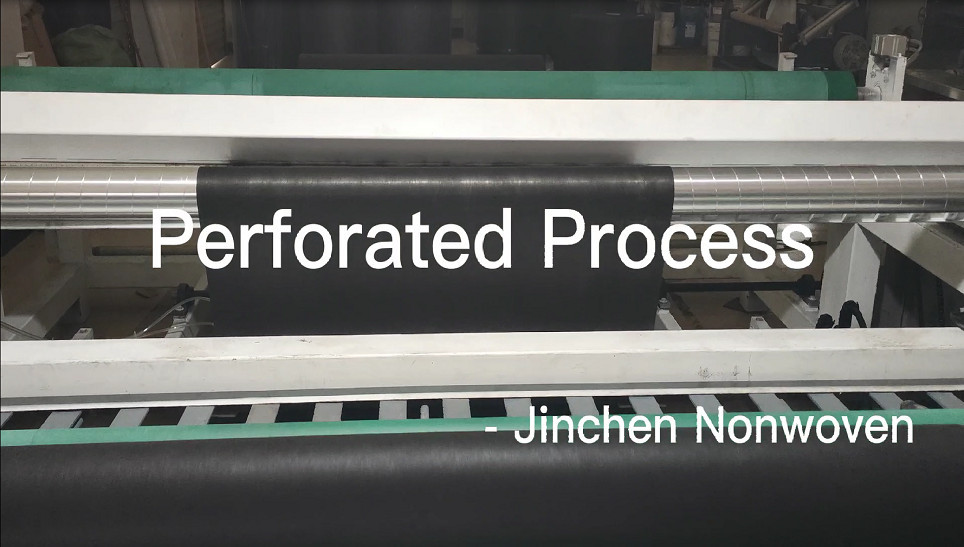 preforated process pp spunbond nonwoven fabric largest width 2.6m