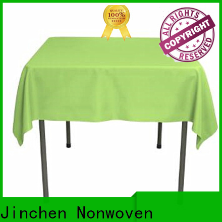 Jinchen best non woven table covers spot seller for dinning room