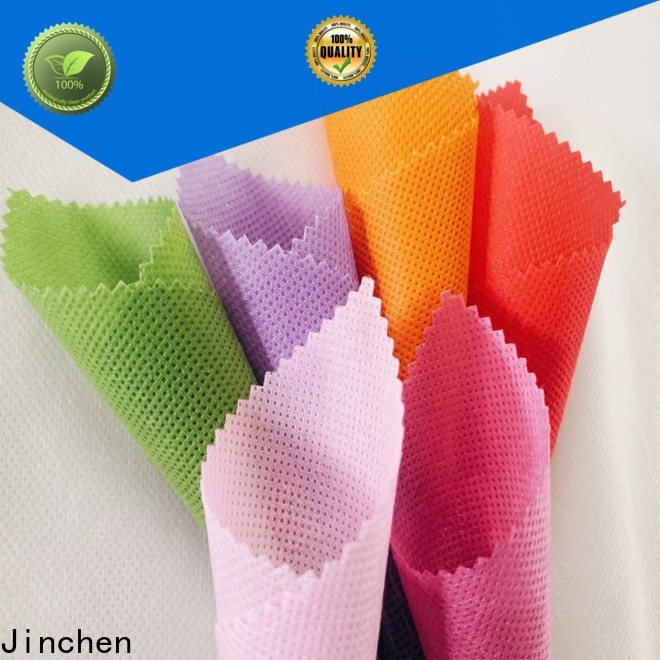 Jinchen waterproof embossed non woven fabric timeless design for agriculture