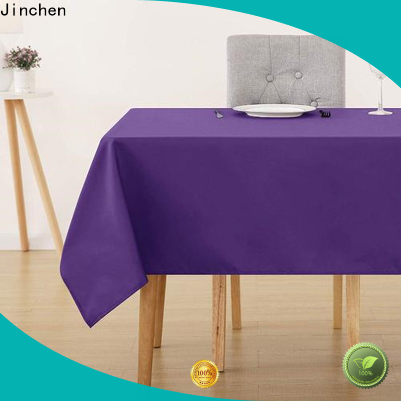 Jinchen custom non woven cotton trader for dinning room