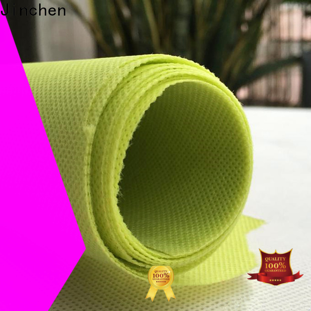 Jinchen waterproof polypropylene spunbond nonwoven fabric producer for sale