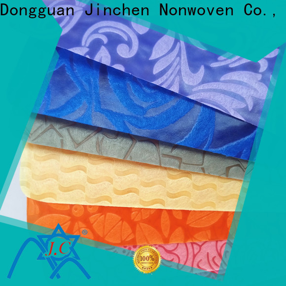 Jinchen non woven printed fabric rolls one-stop solutions for furniture