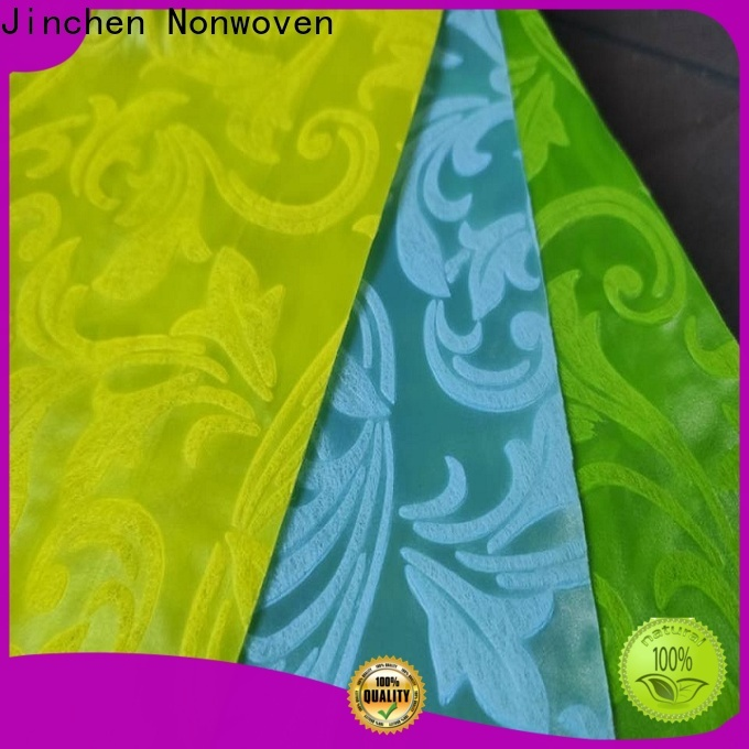 Jinchen non woven printed fabric rolls timeless design for sale