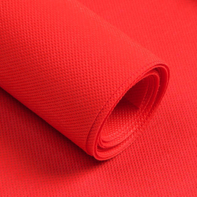 Color pp spunbond nonwoven fabric for simple furniture use