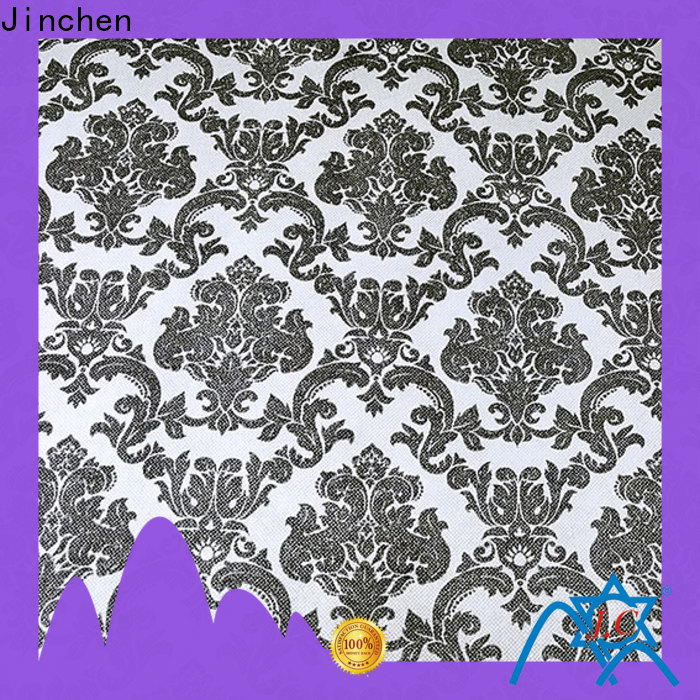 Jinchen customized printed non woven fabric supplier for sale