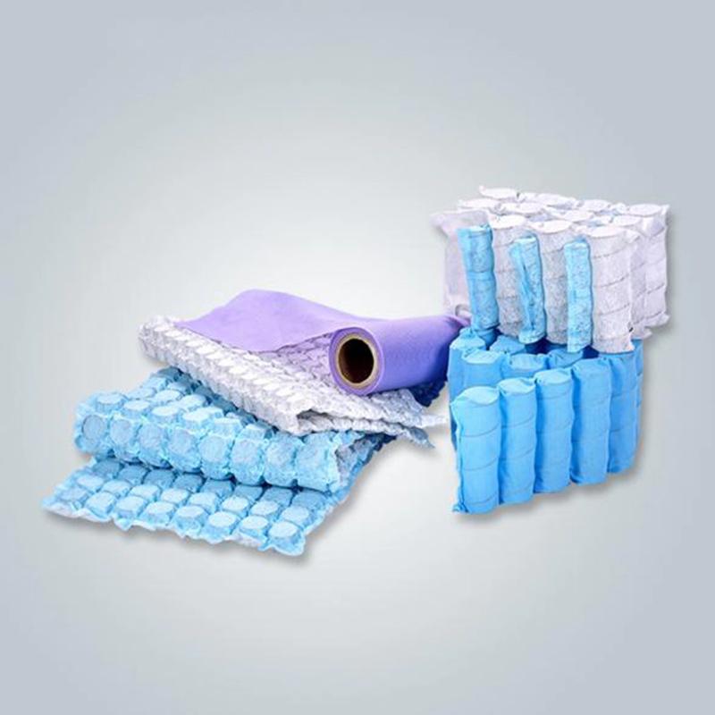 100% Polypropylene spunbond non-woven fabric spring pocket for sofa