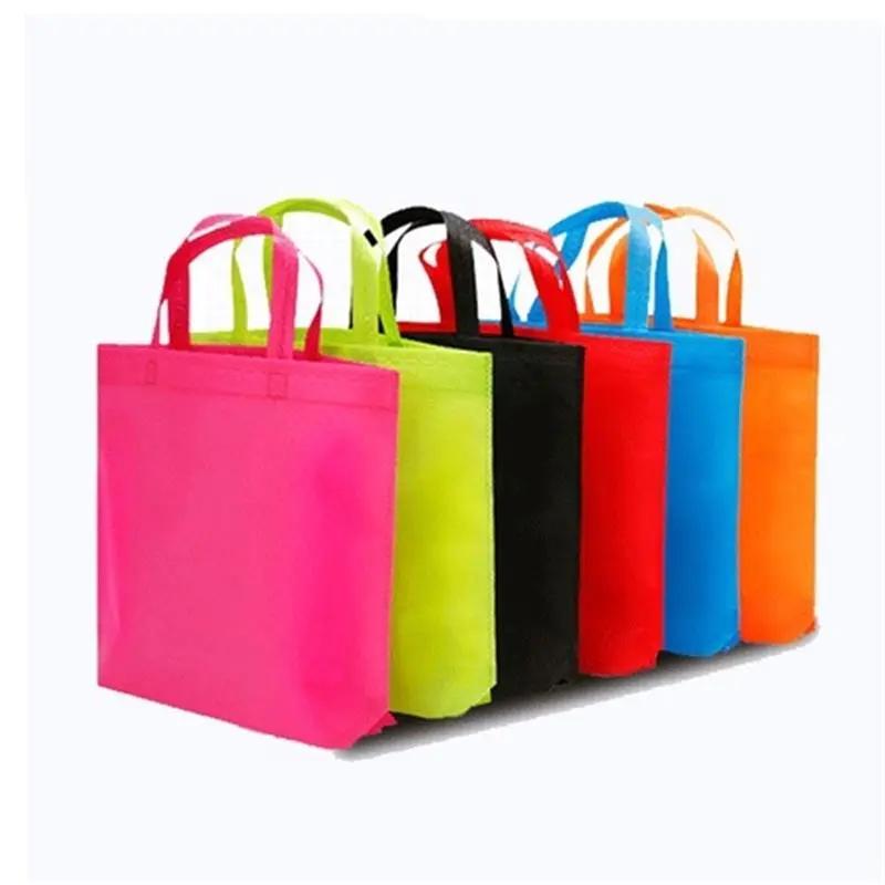 PP Spunbond non woven bag for shopping, promotion, gift packaging