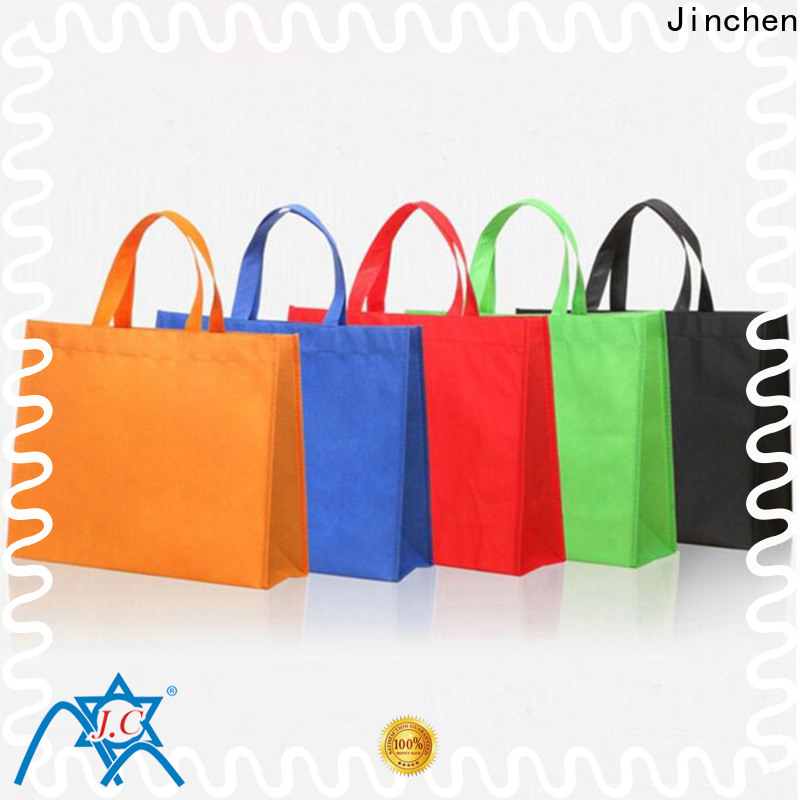 Jinchen non plastic bags solution expert for shopping mall