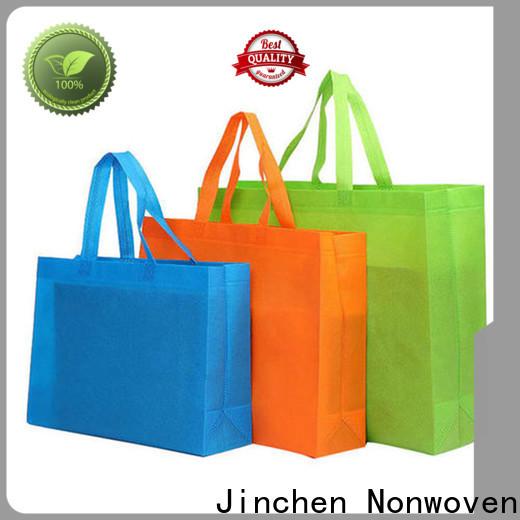 Jinchen tote u cut non woven bags awarded supplier for supermarket