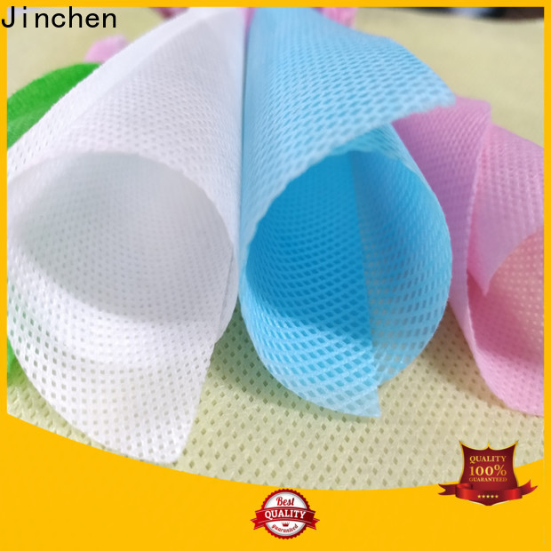 Jinchen top non woven printed fabric rolls manufacturer for furniture