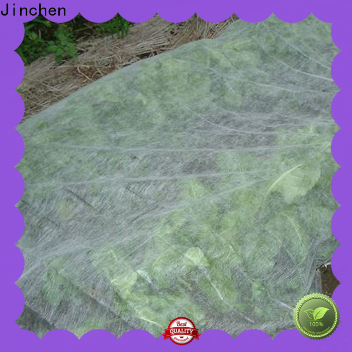 Jinchen professional agriculture non woven fabric one-stop solutions for greenhouse