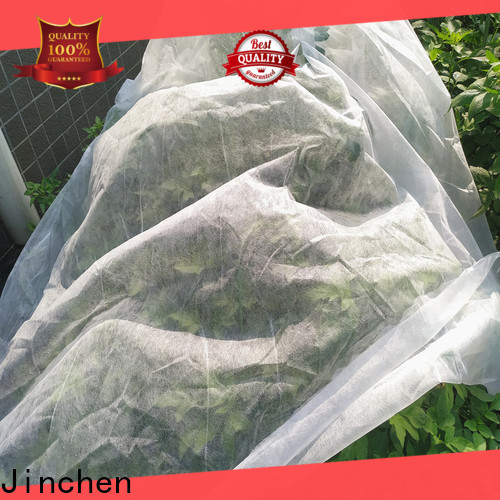Jinchen ultra width spunbond nonwoven fabric chinese manufacturer for garden