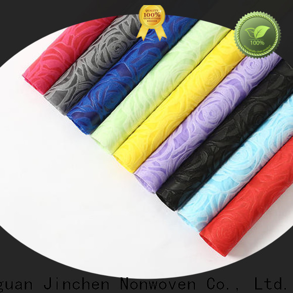 wholesale non woven printed fabric rolls manufacturer for sale
