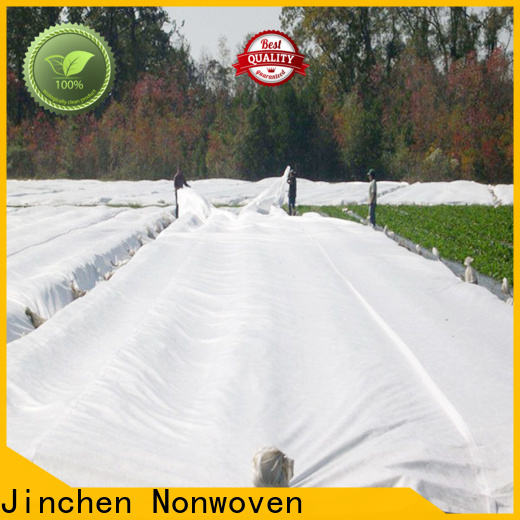 Jinchen new agriculture non woven fabric awarded supplier for greenhouse