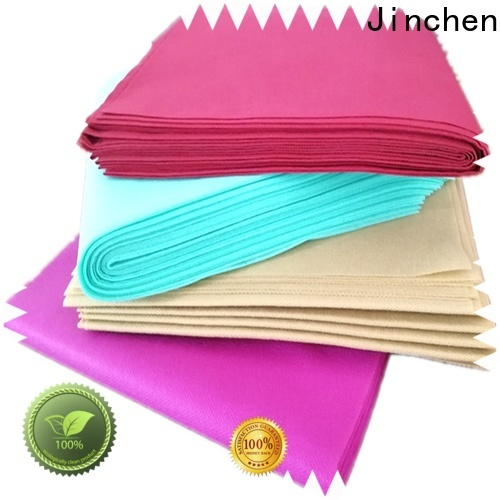 Jinchen low cost tnt non woven material chinese manufacturer for restaurant