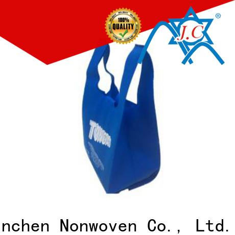 Jinchen non woven tote bags wholesale spot seller for supermarket