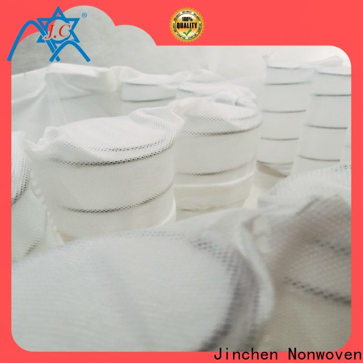 Jinchen good selling non woven fabric products producer for mattress