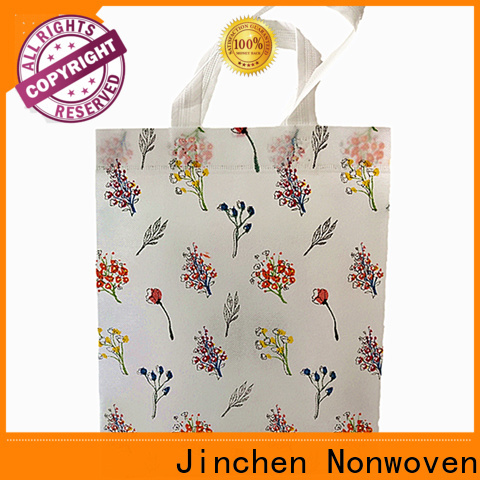 Jinchen best custom reusable bags chinese manufacturer for supermarket