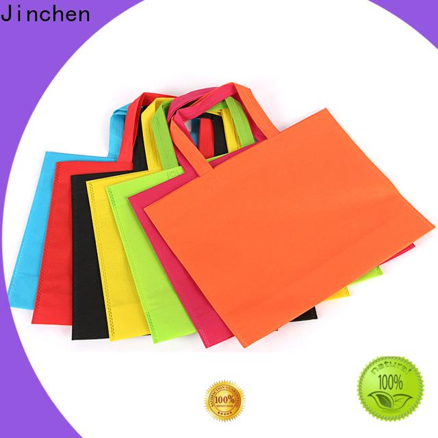 Jinchen pp non woven bags producer for shopping mall