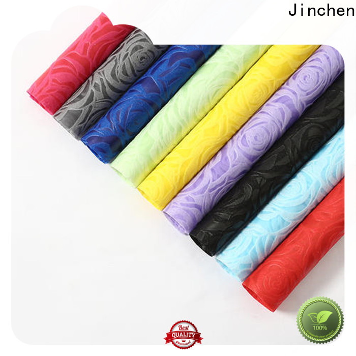 Jinchen non woven printed fabric rolls awarded supplier for furniture