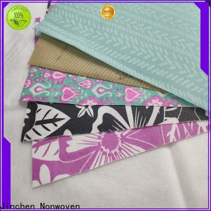Jinchen pp spunbond non woven fabric wholesale for furniture