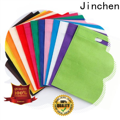 Jinchen printed pp non woven bags timeless design for shopping mall