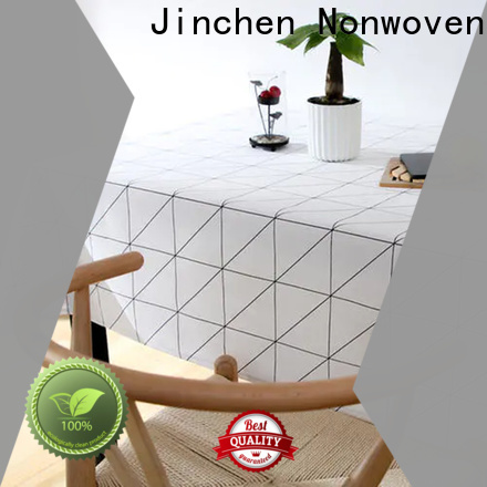 Jinchen tnt non woven fabric one-stop solutions for restaurant
