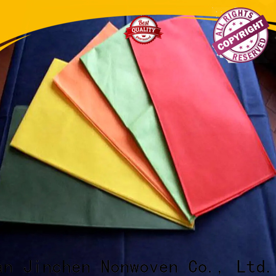 Jinchen high quality pp non woven fabric supplier for spring