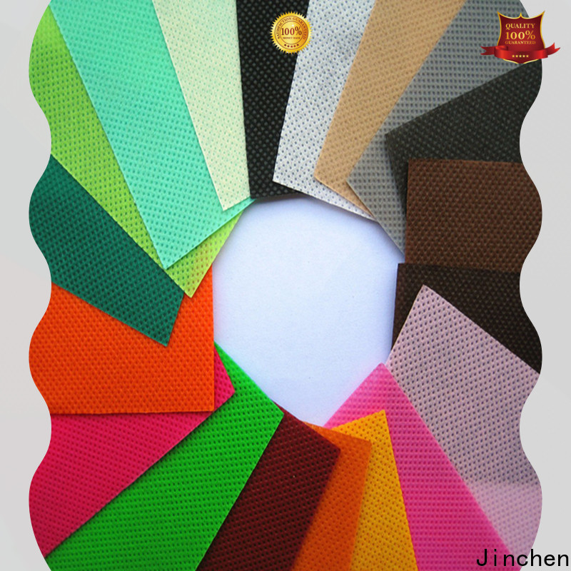 Jinchen embossed non woven fabric spot seller for sale