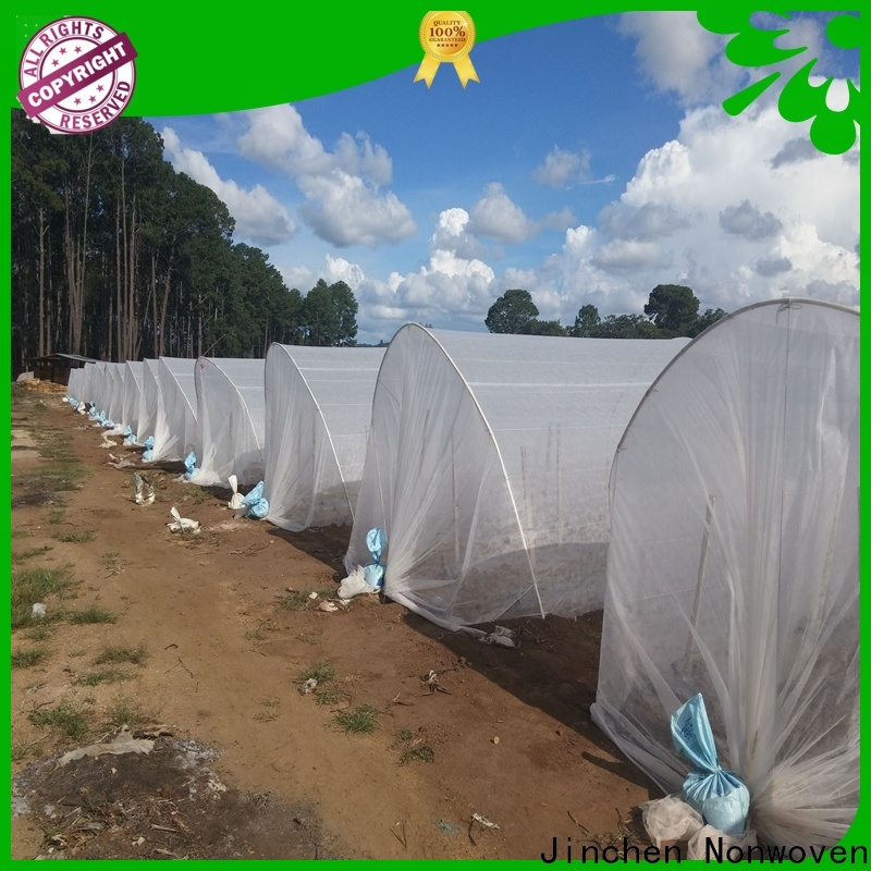 Jinchen new agricultural fabric suppliers spot seller for greenhouse