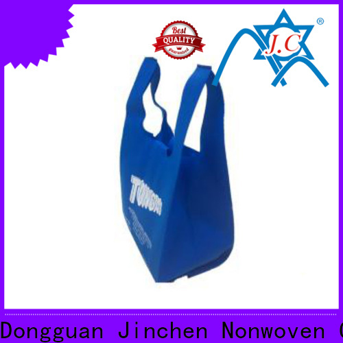 Jinchen seedling u cut non woven bags one-stop services for shopping mall