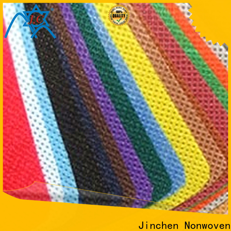 Jinchen reusable pp spunbond nonwoven fabric chinese manufacturer for agriculture