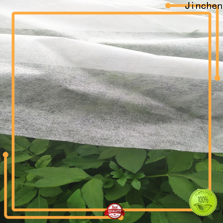 Jinchen custom agriculture non woven fabric trader for garden
