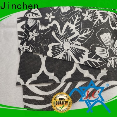 Jinchen wholesale non woven printed fabric rolls wholesaler trader for sale