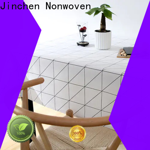 Jinchen pp non woven exporter for dinning room