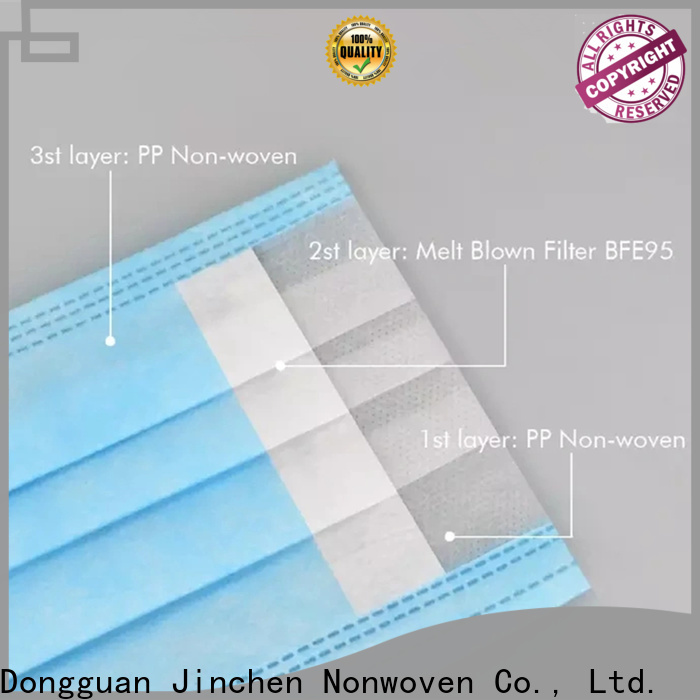 Jinchen superior quality non woven fabric for medical use chinese manufacturer for surgery