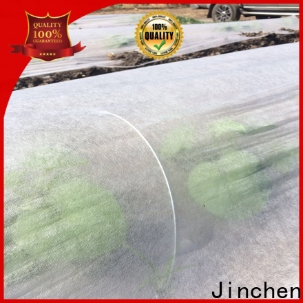 Jinchen ultra width spunbond nonwoven fabric awarded supplier for greenhouse