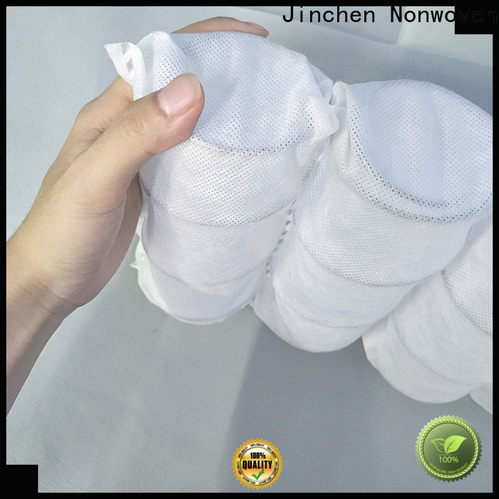 Jinchen pp non woven fabric one-stop services for bed