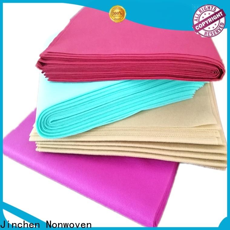 Jinchen non woven fabric tablecloth awarded supplier for restaurant