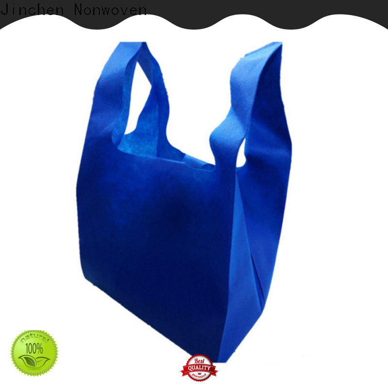 Jinchen non plastic bags affordable solutions for shopping mall