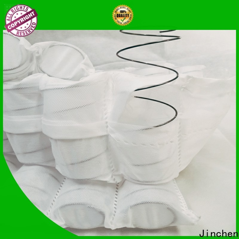 Jinchen high quality pp non woven fabric awarded supplier for pillow