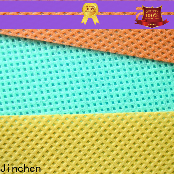 Jinchen customized embossed non woven fabric supplier for sale